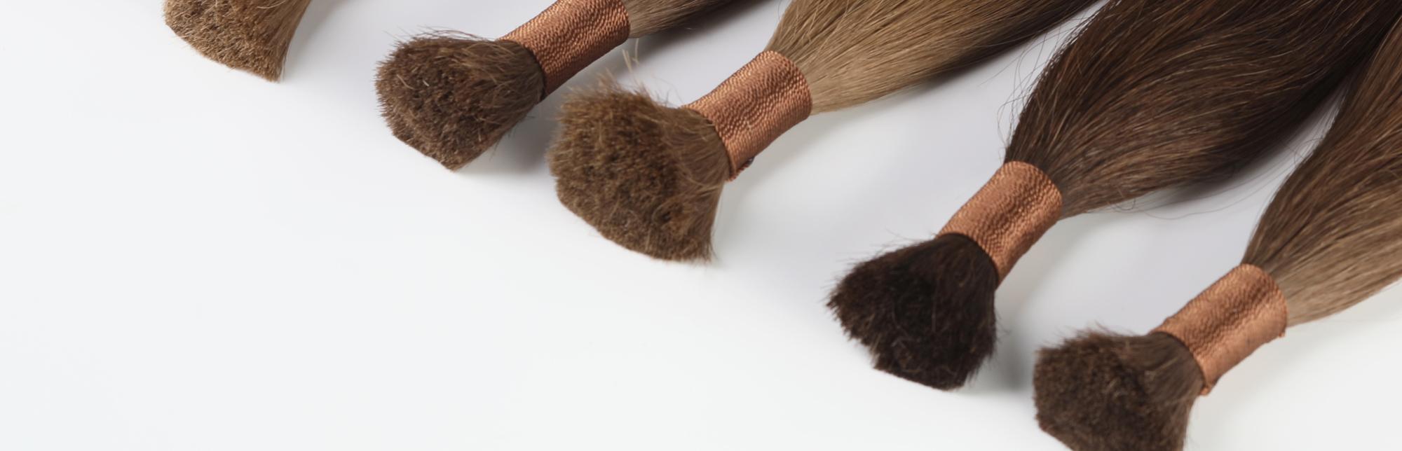Срезы волос для наращивания