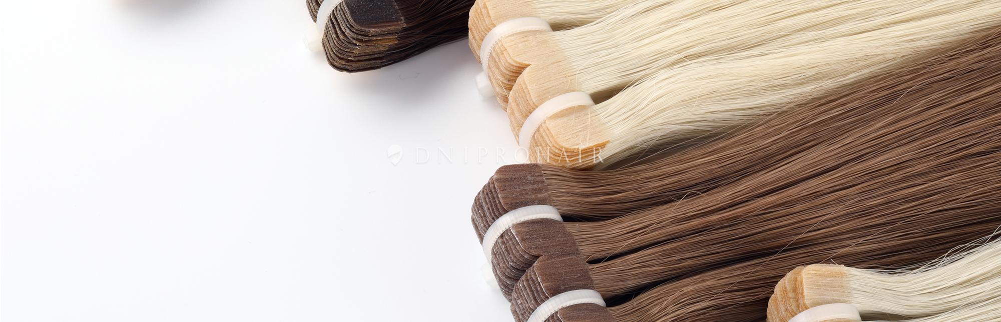 Волосся на стрічках для нарощування