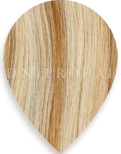 Light blonde and brown