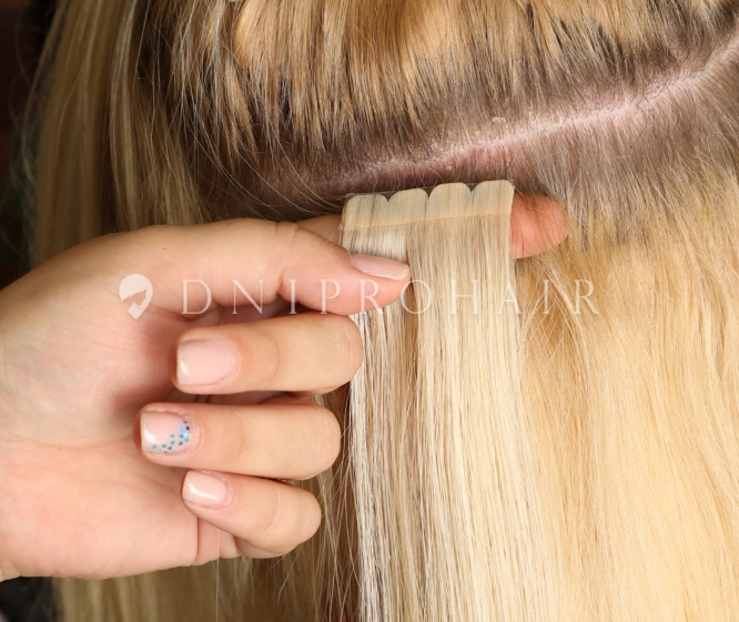 ленточное наращивание волос днепр