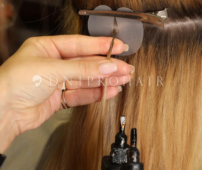 горячее наращивание волос цены