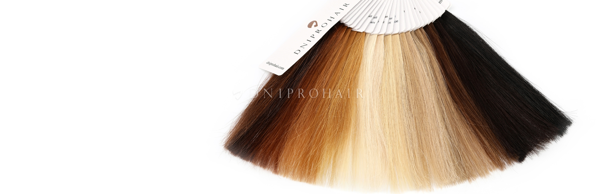 Палитра для наращивания волос