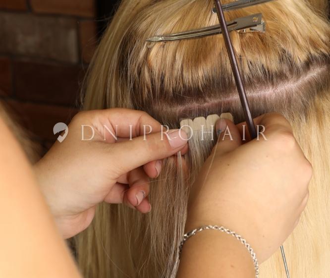 ленточное наращивание волос цена