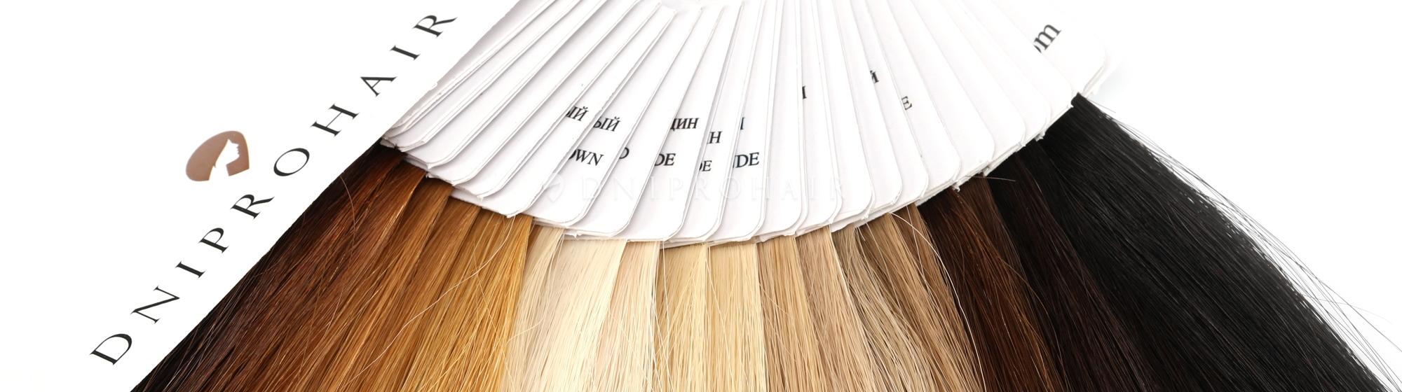 Палитра волос